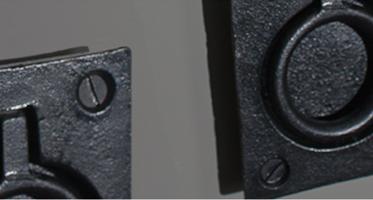 Hatch pull handles