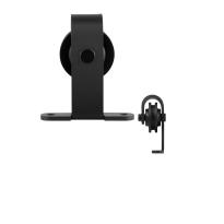 GPF0508.61 enkele schuifdeurhanger Mutka zwart