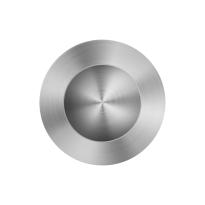 GPF0710.09 schuifdeurkom RVS geborsteld