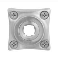 GPF1100.09 RVS rozet vierkant 38x38x5mm