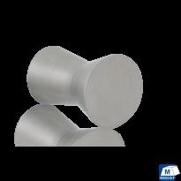 GPF5505 RVS meubelknop rond