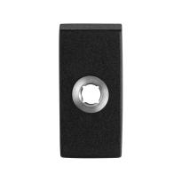 GPF8100.01 rozet 70x32x10mm zwart