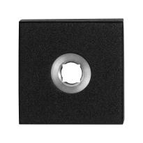 GPF8100.02 rozet 50x50x8mm zwart