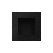 GPF8714.61 zwart schuifdeurk vierkant
