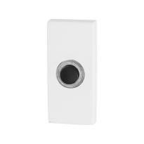 GPF8826.41 deurbel rechthoekig 70x32x10mm wit