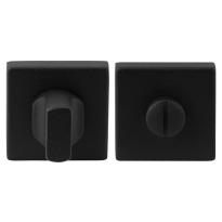 GPF8911.02 toiletgarnituur 50x50x8mm stift 5mm zwart