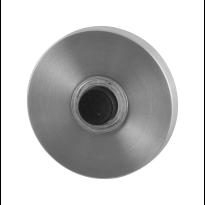 GPF9826.05 deur bel rond 50x6 mm RVS geborsteld