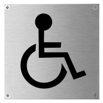 GPF0460.09 sign 'Disabled'