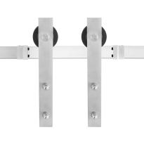 GPF0500.09 sliding door system Lanka stainless steel 200 cm