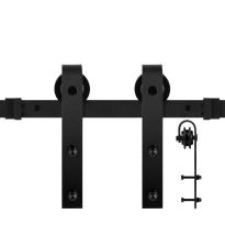 GPF0500.61 sliding door system Lanka black