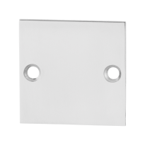 GPF0900.48 blind rose 50x50x2mm polished stainless steel