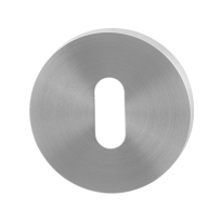 GPF0901.00 keyhole escutcheon 50x8mm satin stainless steel