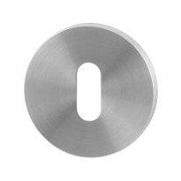 GPF0901.05 keyhole escutcheon 50x6mm satin stainless steel