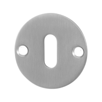 GPF0901.06 keyhole escutcheon 50x2mm satin stainless steel