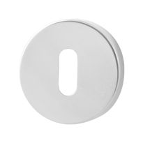GPF0901.45 keyhole escutcheon 50x6mm polished stainless steel