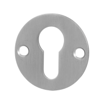 GPF0902.06 cylinder rose 50x2mm satin stainless steel