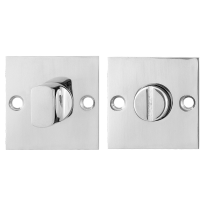GPF0904.48 Turn and Release set 50x50x2mm polished stainless steel