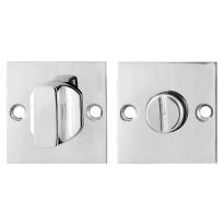 GPF0910.48 Turn and Release set 50x50x2mm polished stainless steel