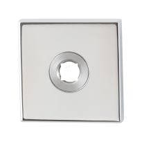 GPF1100.42 Rose 50x50x8mm polished stainless steel