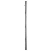 GPF16 pull handle T-model 25x500mm satin stainless steel