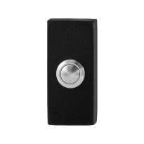 GPF8827.01 Doorbell rectangular 70x32x10mm black