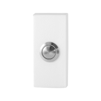 GPF8827.41 Doorbell rectangular 70x32x10mm white