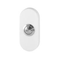 GPF8827.44 Doorbell oval 70x32x10 mm white