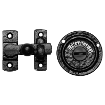 KP1150 Turn and Release set 70x65mm wrought iron black