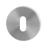 GPF0901.05 keyhole escutcheon 50x6mm satin stainless steel