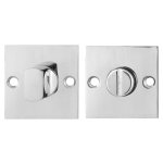 GPF0903.48 Turn and Release set 50x50x2mm polished stainless steel