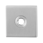 GPF1100.02 Rose 50x50x8mm satin stainless steel