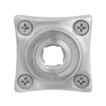 GPF1100.09 Rose 38x38x5mm satin stainless steel