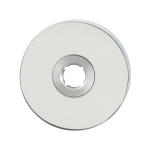GPF1100.40 Rose 50x8mm polished stainless steel
