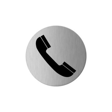 GPF0425.09 RVS pictogram telefoon
