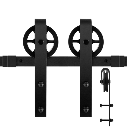 GPF0502.61 schuifdeursysteem Teho zwart