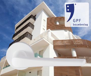 GPF bouwbeslag finish wit