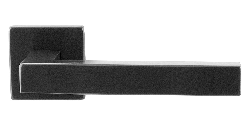 GPF door handle on rose in PVD anthracite