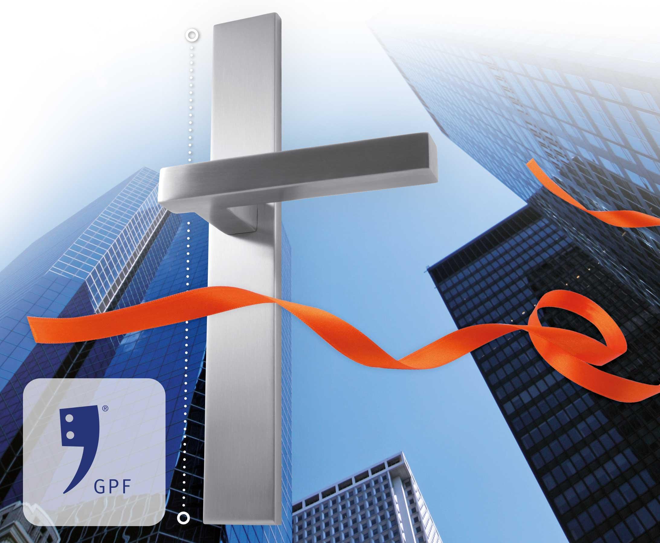 GPF Bouwbeslag RVS XL Langschilden