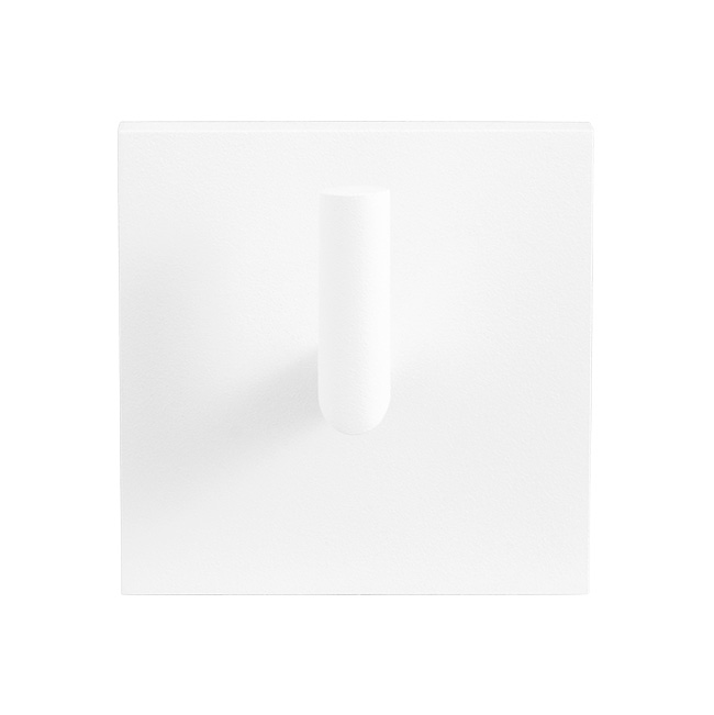GPF coat hook in white
