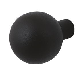 GPF front door knob in black