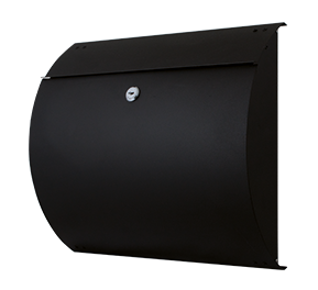 GPF mailbox in black