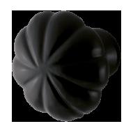 Furniture knob in black wrought iron