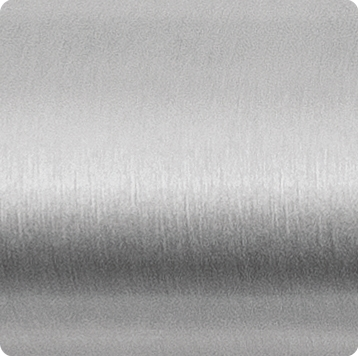 Satin stainless steel
