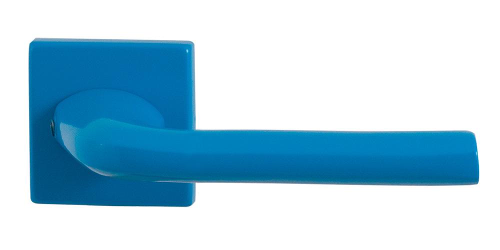 GPF Combivari blue door handle on rose